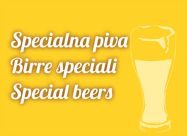 New! Special beers